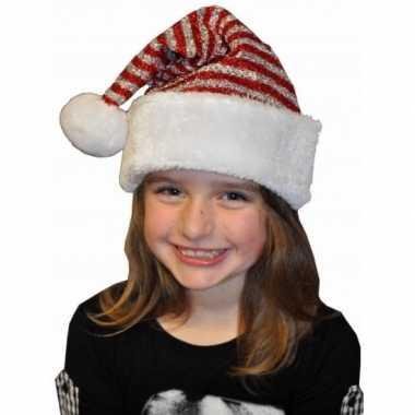 Kerstmuts glitters kinderen