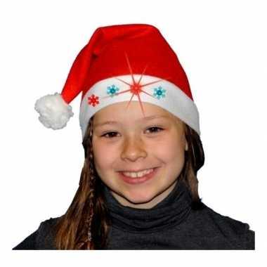 Kerstmuts lampjes kinderen