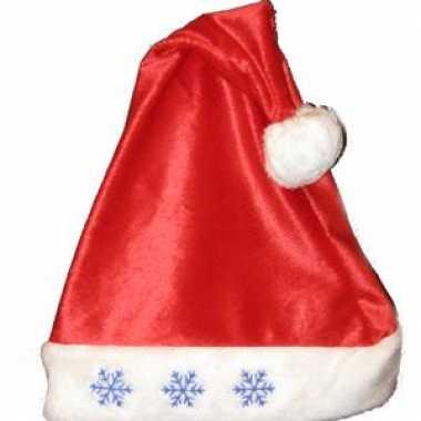 Kerstmuts sneeuwvlok lampjes