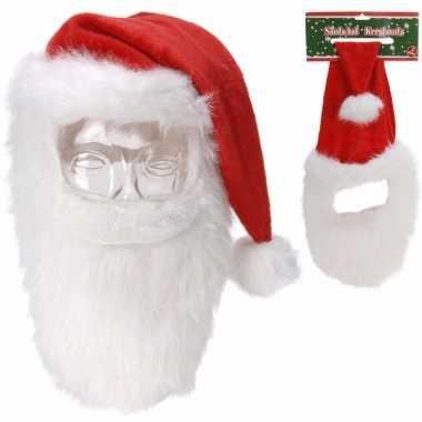 Kerstmuts snor baard