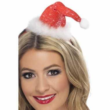 Mini kerstmuts diadeem