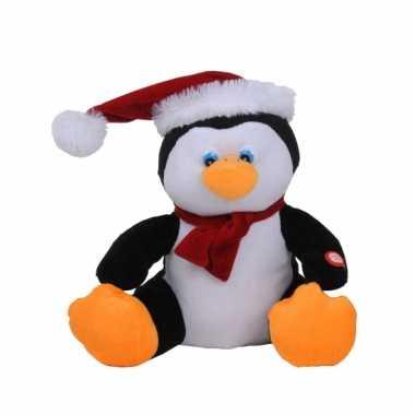 Pinguin bewegende kerstmuts