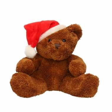 Pluche beer michaela kerstmuts