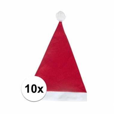 X rode voordelige kerstmuts volwassenen