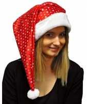 X stuks glitter kerstmutsen pailletten 10249639